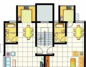 4室2厅2卫 118平米